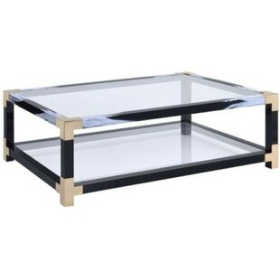 Sizemore Rectangular Metal Coffee Table
