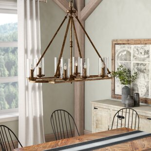 Laurel Foundry Modern Farmhouse Ashburn 8-Light Kitchen Island Pendant
