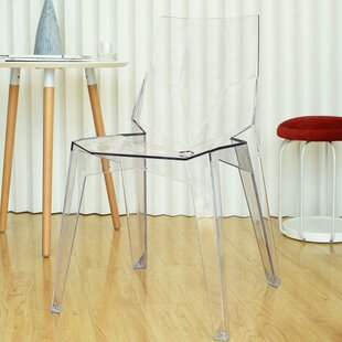 Stadler Transparent Armless Dining Chair ..