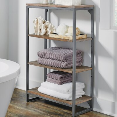 17 Stories Eckles 24 inch W x 3825 inch H Bathroom Shelf