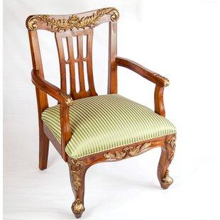 The Silver Teak Classic Queens Arm Chair