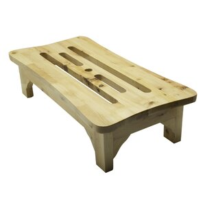 1 Step Wood Step Stool