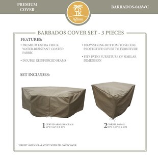 Barbados Protective 3 Piece Sofa Cover Set