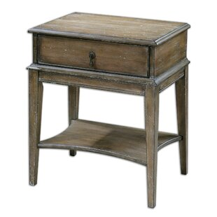 Dustin End Table by August Grove
