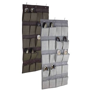 Price comparison 20-Pocket 10 Pair Hanging Shoe Organizer By Home Basics