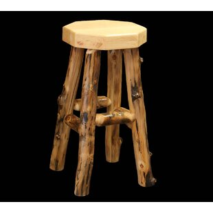 Amias 18 Bar Stool Millwood Pines