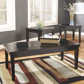 Denae 3 Piece Coffee Table Set Signature Design by Ashley