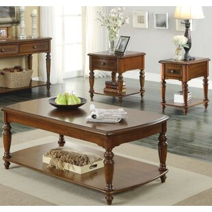 Andrew Home Studio Pearce 3 Piece Coffee Table Set