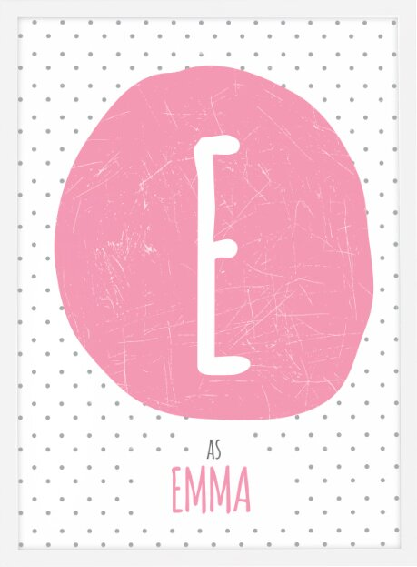 dilemma posters personalized baby name paper print wayfair