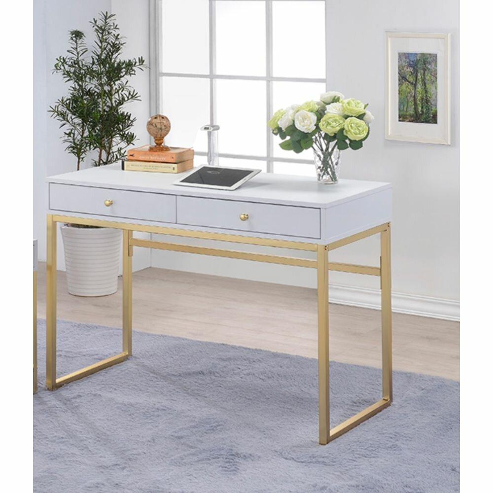 Everly Quinn Ault Desk Wayfair