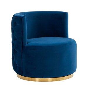Ruyle Swivel Barrel Chair by Mercer41