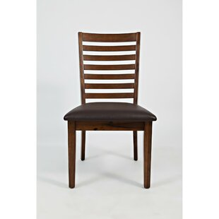 Woods Upholstered Dining Chair (Set of 2) by Loon Peak