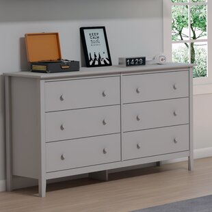 Ryley Simplicity 6 Drawer Double Dresser