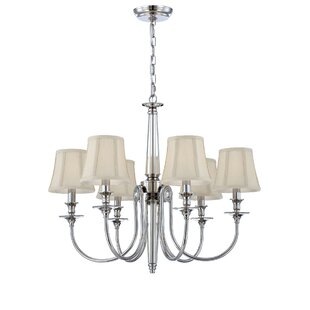 Eurofase Mona 6-Light Shaded Chandelier