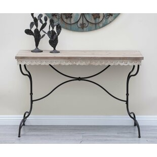 Review Metal/Wood Console Table By Cole & Grey