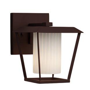 Affordable Luzerne 1-Light Outdoor Sconce By Brayden Studio