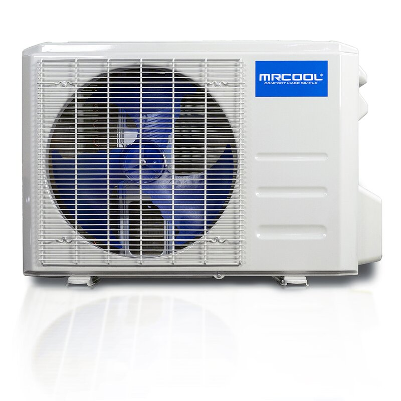 MRCOOL DIY 18,000 BTU Ductless Mini Split Air Conditioner and Heat Pump System with Wireless-Enabled Smart Controller; Works with Alexa Google or App; 230V AC