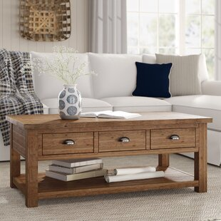 Affordable Seneca Coffee Table with Storage ByBirch Lane™