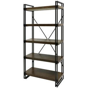 Compare prices Nikole Etagere Bookcase By17 Stories
