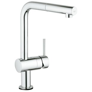 Minta Single Handle Kitchen Faucet with Side Spray and SilkMove®