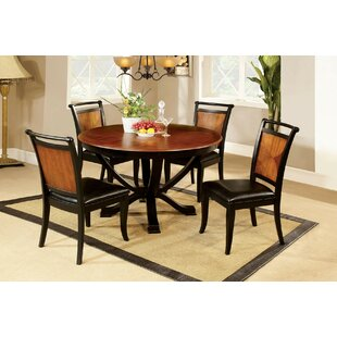 Almazan 5 Piece Dining Set Bloomsbury Market