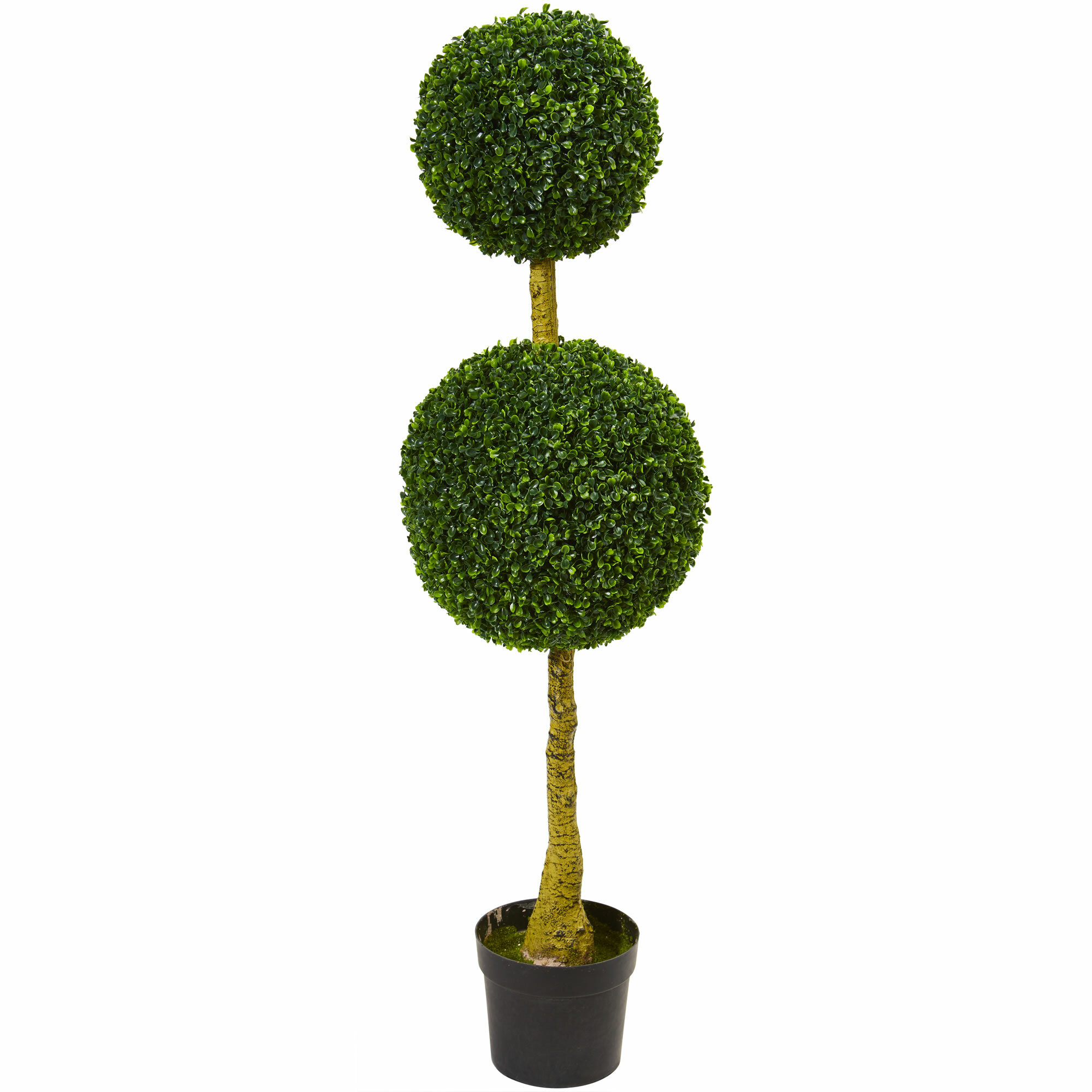 Darby Home Co 47 Artificial Boxwood Topiary In Planter Wayfair