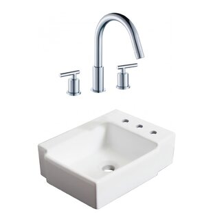 Find Ceramic 16.25 Bathroom Sink with Faucet By Royal Purple Bath Kitchen