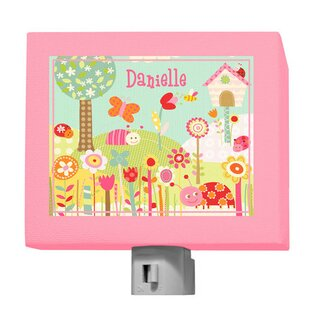 Oopsy Daisy Pretty Ladybugs Personalized Night Light