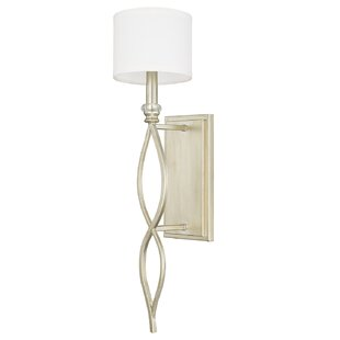 Inexpensive Hirschman 1-Light Wall Sconce By House of Hampton