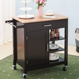 Willia Kitchen Cart by August Grove®