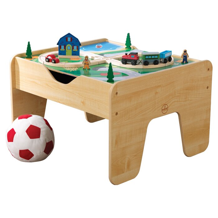 KidKraft Activity 2-in-1 Kids Square Lego/Train Table & Reviews ...