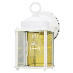 Bargain Exterior 1-Light Outdoor Wall Lantern By Westinghouse Lighting