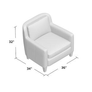 AllModern Custom Upholstery Barstow Armchair