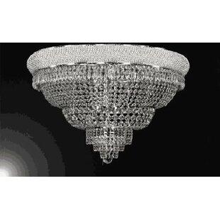 Rosdorf Park Chambers 21-Lights LED Flush Mount