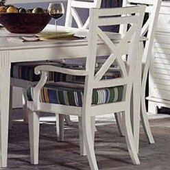 98000 Cross Road Dining Arm Chair by South Sea Rattan