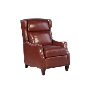 Canora Grey Vauxhall Leather Manual Recliner