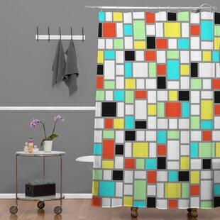 Jacqueline Maldonado Geo Single Shower Curtain