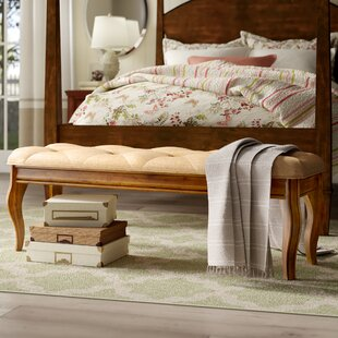 Johnston Fabric Upholstered Storage Bench