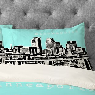 Bird Ave Minneapolis Pillowcase
