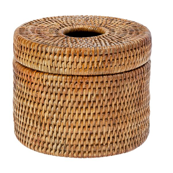 Rattan Toilet Paper Basket Wayfair
