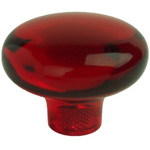 Clear Mushroom Knob by mycolorknobs