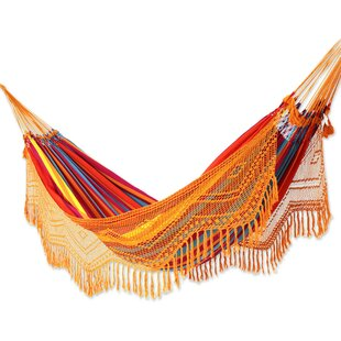 Mcclung Carnaval Cotton Double Camping Hammock by Bloomsbury Market