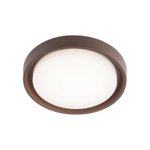 Ranjan LED Outdoor Flush Mount By Sol 72 Outdoor
