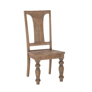 World Interiors Chatham Downs Solid Wood Dining Chair (Set of 2)