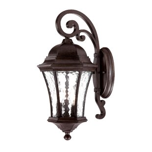 Best Reviews Prestbury 3-Light Outdoor Wall Lantern By Charlton Home