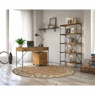 Ironworks Desk And Bookcase Set by Kathy Ireland Home Bush Furniture Discount