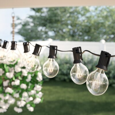 Sol 72 Outdoor Bal Harbour 50 ft. 50-Light Globe String Light & Reviews | Wayfair