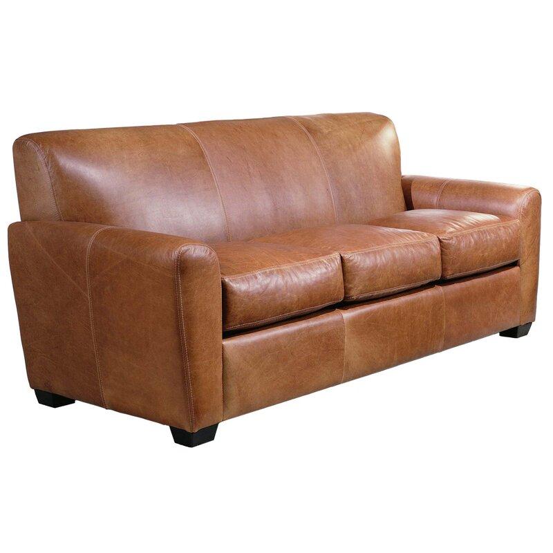 Exceptional Jackson Leather Sleeper Sofa