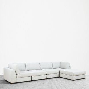 Kendrick Reversible Modular Sectional With Ottoman by Orren Ellis Cool