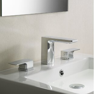dCOR design Barret Stufurhome Widespread Bathroom Faucet with Drain Assembly